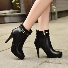 Aine Winter Wardrobe, Heels, Boots, How To Wear, Beautiful, Collection, Style, Fashion, Ankle Boots