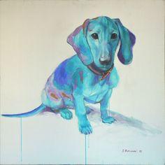 """Saatchi Online Artist: Stefan Petrunov; Acrylic 2012 Painting """"Dakel"""""""