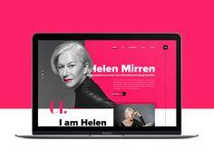 Helen Mirren Personal Website