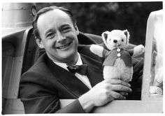 Donald Campbell and his 'lucky charm' Mr Whoppit, who accompanied Donald on all his runs