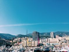 gorgeous day at #Monaco yacht show