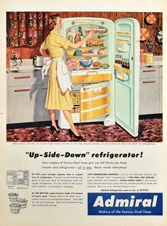 Retro Advertising, Retro Ads, Vintage Advertisements, Vintage Ads, Vintage Images, Vintage Prints, Vintage Posters, 1950s Ads, Vintage Appliances