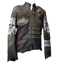 Junker Elite Panzer Jacket. Post apocalyptic like, again I wouldn't duplicate but I'd steal some ideas.