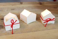 fimohaus. Teelichthäuschen Videoanleitung. Nettes Geschenkchen für Weihnachten.