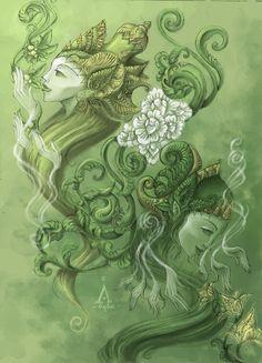 vetiver-Spiritual_Herbalists_by_tentaculus.jpg 600×832 pixels
