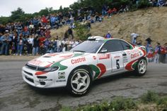 Toyota Celica GT4 rally car....one of my fave cars  ...