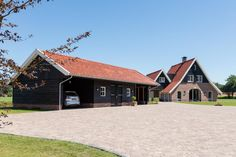Barn Renovation, Wood Cladding, Garage Workshop, Garages, Stables, Fixer Upper, Terrace, Beautiful Homes, Farmhouse