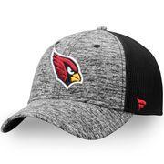 NFL Pro Line by Fanatics Branded Arizona Cardinals Heathered Gray/Black Static Trucker Adjustable Snapback Hat :https://athletic.city/football/gear/nfl-pro-line-by-fanatics-branded-arizona-cardinals-heathered-grayblack-static-trucker-adjustable-snapback-hat/