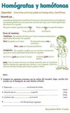 19 Ideas De Actividades De Ortografia Secundaria Actividades De Ortografía Aprendizaje Ortografía