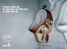 New Ad Media Indoor: Bathroom, 2