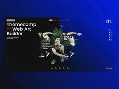 Themecomp  Web Art Builder by Kozyon  #Design Popular #Dribbble #shots