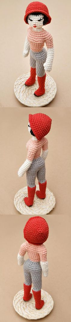 Miette The Fashion Doll Amigurumi Pattern