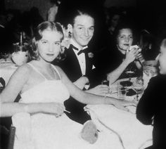 Society darling Edith Beale pictured with her beau, Jack Vietor who has diplomatic ambitions, at the infamous El Morocco nightclub, 1937.