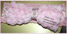 Laço rosa da Maria Filó!