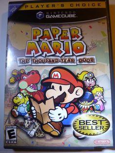 Paper Mario: The Thousand-Year Door ( Nintendo GameCube 2004 ) Complete MINT