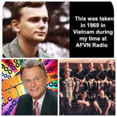 Pat Sajak-Army-Vietnam-Disc Jockey in Saigon (TV Host of Wheel of Fortune)