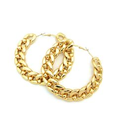 ghetto hoop earrings - Google Search