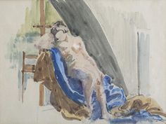 Mainie Jellett was one of the foremost modernist Irish artists of the last century. Trained in Paris, she was one of the first Irish arists, alongside her friend Evie Hone to paint in an abstract cubist style. Irish Art, Watercolour, Nude, Abstract, Gallery, Artist, Christmas, Painting, Pen And Wash