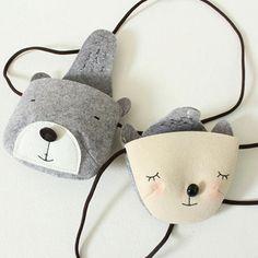 Overlap Animal Bag Series (4 designs) – Greenberry Kids
