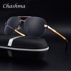 88a2fb55ae B Coating Vintage Sun Glasses Pilot Eye Sunglasses Men Aluminum Designer  Metal Frame Mirror Glasses Polarized Glasses Case