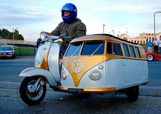 Is it a Vespa? Is it a campervan?