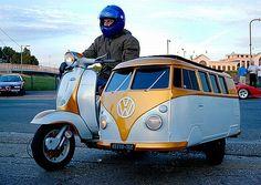 Is it a Vespa? Is it a campervan?