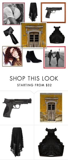 """""""Take Me Home By Jess Glynne"""" by amartin10 ❤ liked on Polyvore featuring Smith & Wesson, NOVICA and Spell"""