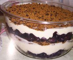 Rezept Nachtisch mit Weintrauben von Irinawaimer83 - Rezept der Kategorie Desserts