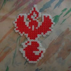 Team valor logo - Pokemon Go perler beads by AmandacraftsCo