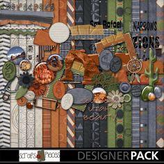 Southern Utah Beauty - digital scrapbook kit