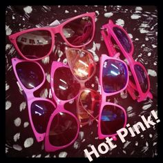 I believe in pink!  #pink #believe #glasses #sunglasses #hot #summer #color #sunnies #sunglasses #shaded #eyewear #style #fashion #athens