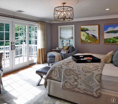 Photo by Vani Sayeed Studios on Houzz, featuring Quoizel's Dury pendant