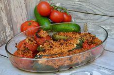 Le soleil et le beau temps sont revenus en Provence alors ça donne envie de préparer de belle recette ensoleillé! Alors voici une version vegan des petits farcis provençaux, vraiment délicieux. Ingrédients pour 4 personnes : 4 courgettes 4 tomates 200g...