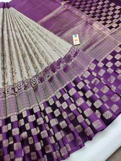 Silk Saree Kanchipuram, Raw Silk Saree, Wedding Silk Saree, Banarasi Sarees, Pure Silk Sarees, Lehenga, Purple Saree, Red Saree, Pattu Saree Blouse Designs