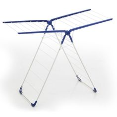 minky 3 tier 21m indoor clothes airer with flip outs. Black Bedroom Furniture Sets. Home Design Ideas