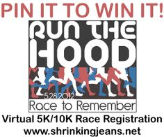 Pin It to Win It --RACE REGISTRATION! Virtual 5K/10K/Fun Run - Gather your friends and family, walk or run! Registration is open!