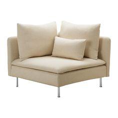 SÖDERHAMN Elemento modulare angolare - Isefall naturale - IKEA