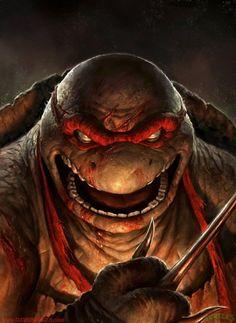 What the ninja turtles look like in my nightmares