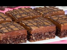 Král mezi čokoládovými dorty – nejjednodušší a nejchutnější čokoládový dezert | Chutný TV - YouTube No Cook Desserts, Sweets Recipes, Dessert Bars, Flan Au Caramel, Ice Cream Party, Cookies Et Biscuits, Macarons, Rum, Cheesecake