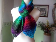 Miss Marple, Scarf Crochet, Windy Day, Agatha Christie, Ascot, Yarn Colors, Shawls And Wraps, Etsy Vintage, My Etsy Shop