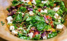 Receitas da Carolina - Ep. 9 - Salada de trigo mediterrnea Bento Recipes, Veggie Recipes, Wine Recipes, Vegetarian Recipes, Healthy Recipes, Clean Eating, Healthy Eating, Wonderful Recipe, Mediterranean Recipes