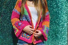 """46 Me gusta, 1 comentarios - Telar De Campo (@telardecampo) en Instagram: """"💜💜 🌼🌼 #hechoamano #hilo de algodón #diseñosunicos #bohostyle"""""""