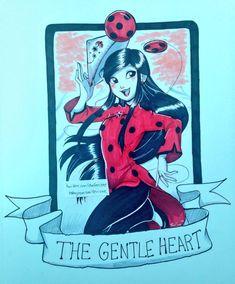 Ladybug de buen corazón