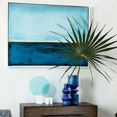 Framed Print - Blue Horizon