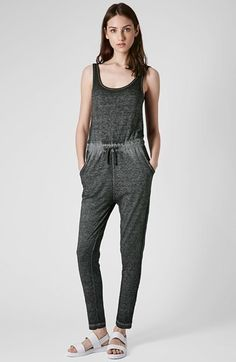 Charcoal Jumpsuit by Topshop. Buy for $60 from Nordstrom
