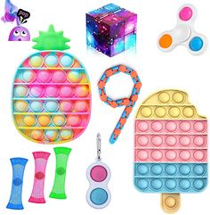 Anti Stress Ball, Best Amazon Gifts, Sensory Toys For Autism, Lego Friends Sets, Kids Living Rooms, Figet Toys, Creative Inventions, Push Toys, Cute Stitch