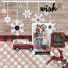A layout I created that was published in the Winter 2017 issue of Scrapbook And Cards Today Magazine. This layout was created with the Carta Bella Christmas Delivery Collection, cut files from Just Nick Digital Cut Files and the December 2016 Main Kit fro Paper Bag Scrapbook, Christmas Scrapbook Layouts, Scrapbook Page Layouts, Baby Scrapbook, Scrapbook Cards, Style Scrapbook, Vacation Scrapbook, Christmas Colors, Christmas Layout