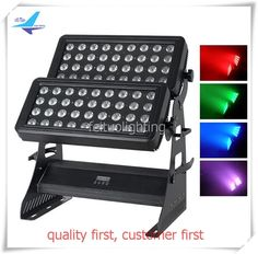 A- LED Outdoor Wall Washer Color blaster 72x10w 4IN1 rgbw led city color light/road case #Affiliate