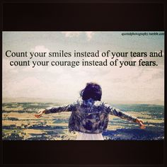 Even though u can't count courage lol