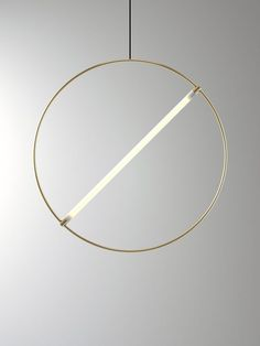 On the occasion of the Maison&Objet 2018 design fair, The Full Room and Huskdesignblog have collaborated to highlight products to be presented on the fair on the Primitive Luxury theme   Edizioni Design   brass lighting   fluorescent tube lighting   brass suspensions   luxury lighting   Maison&Objet 2018   2018 new collection   2018 design trends   2018 interior design trends   circular lighting   circular pendant   Italian design   minimal design   minimalist lighting   minimal decor